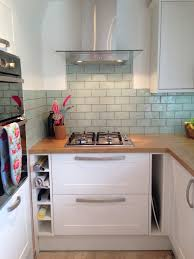Mediterranean Kitchen Wirral New Kitchen Laura Ashley Tiles Burford White Howdens Kitchen And