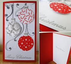 handmade christmas card baubles by cakecrumbs on deviantart