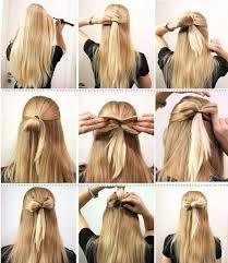 Frisuren Lange Haare Zum Selber Machen by Die Besten 25 Lange Haare Stylen Ideen Auf Schnelle