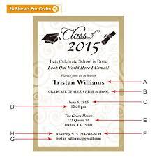 high school graduation announcement gradshop