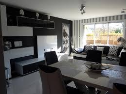 d co canap noir canap cuir noir et blanc 1678 deco salon canape blanc avec d co avec