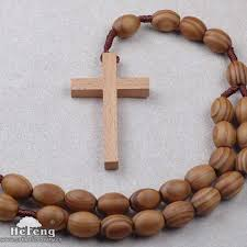 wall rosary pine wooden wall rosary buy wooden wall rosary wood wall