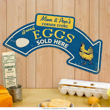 eggs sold here arrow sign country kitchen signs retroplanet com
