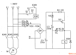 single phase motor controlled circuit automotive wiring diagram
