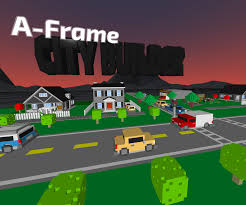What Is An A Frame House Github Kfarr Aframe City Builder A Frame Project