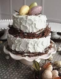 Christian Easter Decorations Ideas by Easter U0026 Springtime Bird U0027s Nest Cakes Family Holiday Net Guide