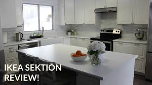 ikea sektion kitchen review diy youtube