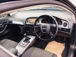 audi a6 2 0 diesel manual tdi se 2008 1 owner sat nav service