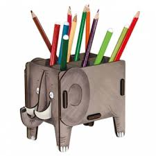 elephant desk tidy my own den