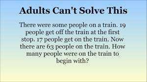 adults stumped by maths questions for 15 year olds can you solve
