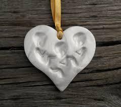 triplet birth announcement pro life ornament pregnancy