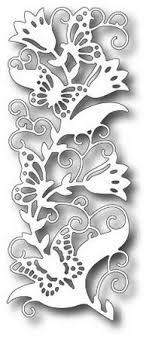 designs dies butterfly vine border