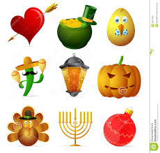 thanksgiving hanukkah holiday symbols stock vector image 55675990