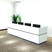 Office Desk Photo Front Office Furniture Ideas Front Office Desk Chic Modern Design