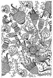 print free coloring coloring fishes wave
