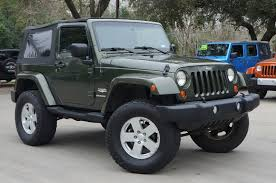 2007 green jeep wrangler 2007 jeep green wrangler 81k 6 speed top
