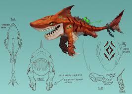 Hungry Shark Map Artstation Hungry Shark World Playable Character Concepts