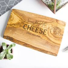 personalized cheese plate personalised wooden chopping cheese board by the rustic dish