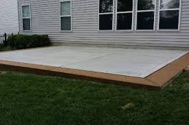 Photos Of Concrete Patios by Concrete Patio Installation St Louis Truecrete