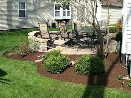 Outdoor Concrete Patio Patio Ideas Garden Plans Around Patio Landscaping Around A Deck