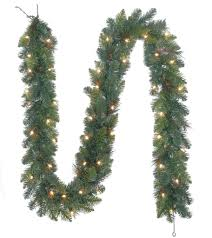 buy the mixed pine lighted garland by ashland at