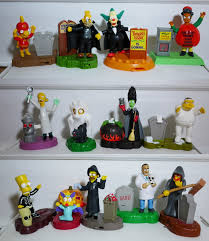 burger king halloween halloween burger king toys the simpsons happy meal toys pinterest