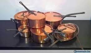 batterie de cuisine en cuivre a vendre magnifique batterie de cuisine en cuivre a vendre 2ememain be
