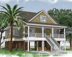 Southern Low Country House Plans Plan 15035nc Narrow Lot Beach House Plan Kitchens Beach And House