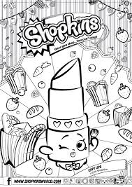 shopkins free printable coloring pages coloring