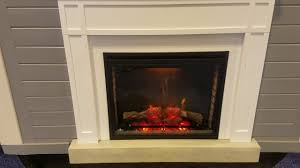 Napoleon Electric Fireplace Napoleon Ascent Electric Fireplace Youtube