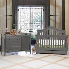 Grey Nursery Furniture Sets Grey Crib And Dresser Set Ti Amo Nursery Sets Baby Furniture