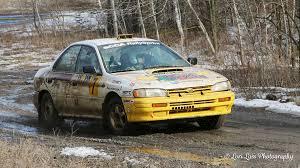 subaru mud 2017 waste management winter rallysprint transformed from winter