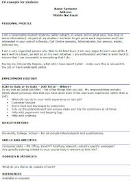 resume format for college students cv exles for college students uk templates resume exles
