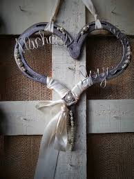 horseshoe wedding gift wedding horseshoe gift horseshoe decor decorated
