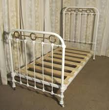 victorian single brass and iron bed antiques atlas