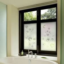 Bathroom Window Curtains by Window Vinyl Film Tags Bathroom Privacy Window Frosted Glass