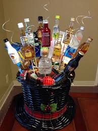 25 unique liquor gift baskets ideas on gifts