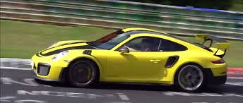 2019 porsche 911 vs 2018 porsche 911 gt2 rs nurburgring prototype