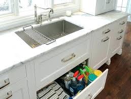 the kitchen sink storage ideas storage kitchen sink cryptofor me