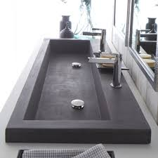 How To Install A Bathroom Sink And Vanity by Bathroom Charming Double Trough Sink For Best Bathroom Sink