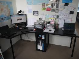 plateau de bureau d angle plateau d angle finest bureau d angle ikea bois treteaux