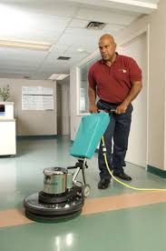 vinly tile and terrazzo floor cleaning at servicemaster