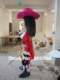 Captain Hook Halloween Costume Aliexpress Buy Jake Neverland Pirates Mascot Costume