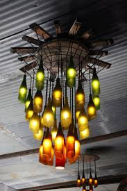 Wine Bottle Chandeliers Interior And Exterior Amazing Wine Bottle Chandeliers A