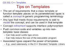 overview of c templates ppt video online download