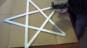 Lighted Star Window Christmas Decorations by How To Make Simple Yardstick Light Up Star Lighted Christmas
