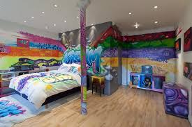 Ambientes Decorados Com Grafites E Desenhos Graffiti Sons And - Graffiti bedroom