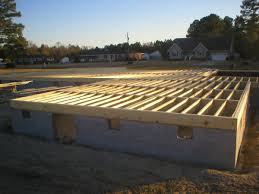 how to build a floor for a house wood joist floor assembly