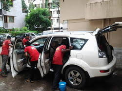 service provider of interior car cleaning and protection anti