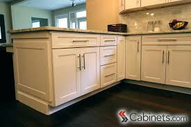 kitchen cabinet handle ideas shaker kitchen cabinet handle creating an affordable white cabinets